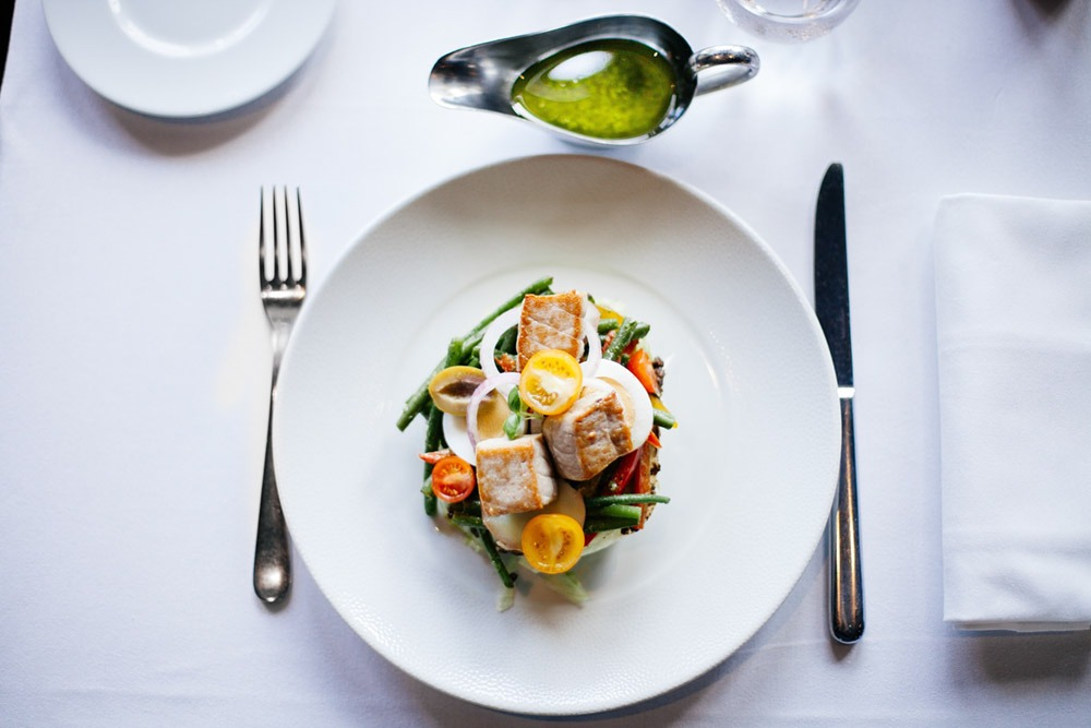 Veggies and Tuna Salad